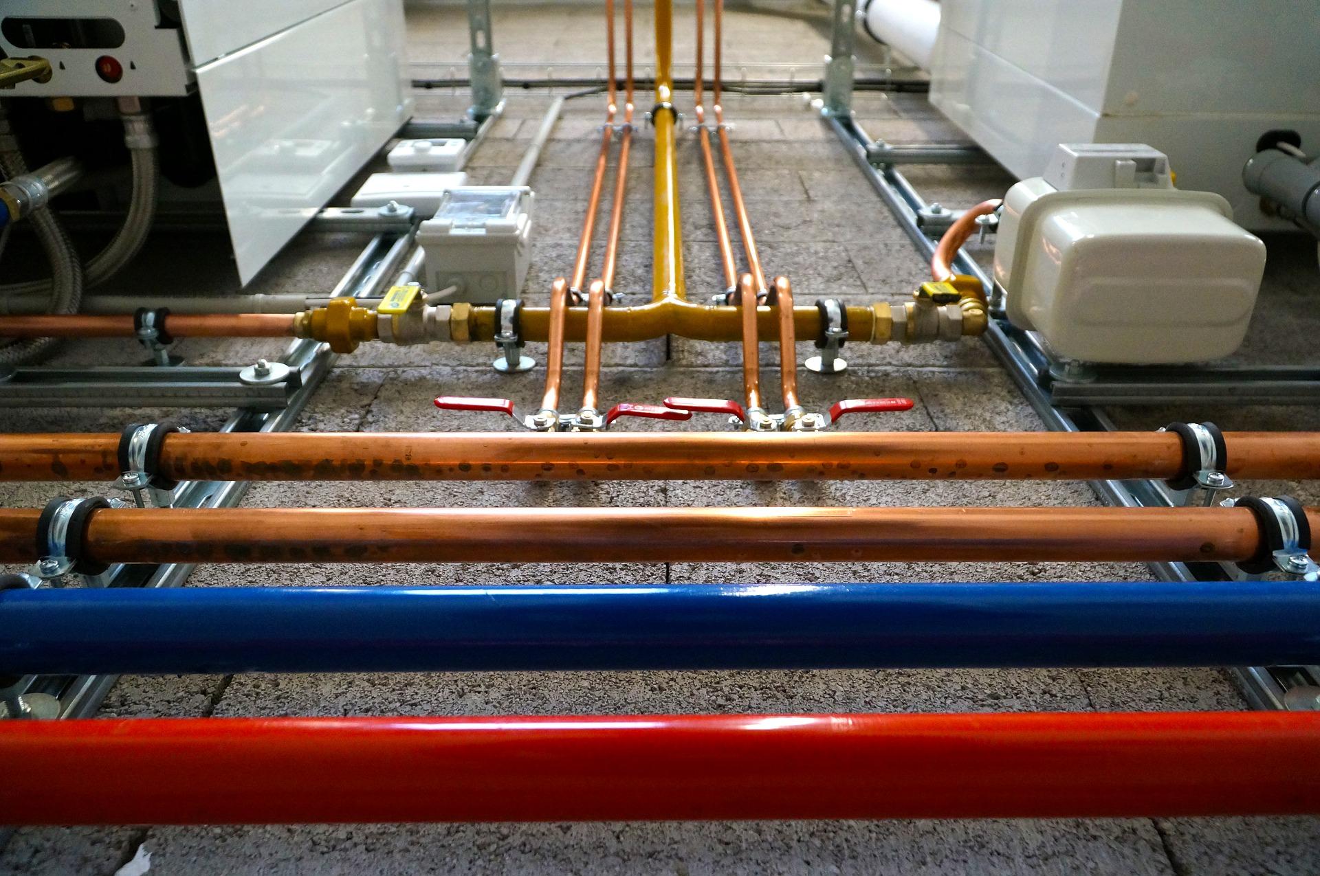 Heizung Installationen Rohre